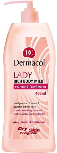 Dermacol Lady Rich Body Milk Cosmetic 40ml Paveikslėlis 1 iš 1 250850200152