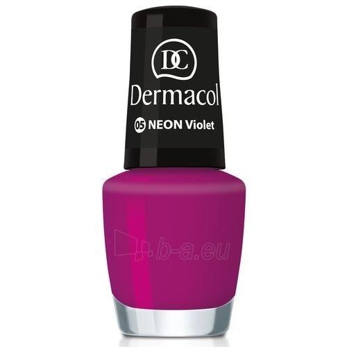 Dermacol Neon Polish Cosmetic 5ml 13 barbie Paveikslėlis 1 iš 1 250874000371