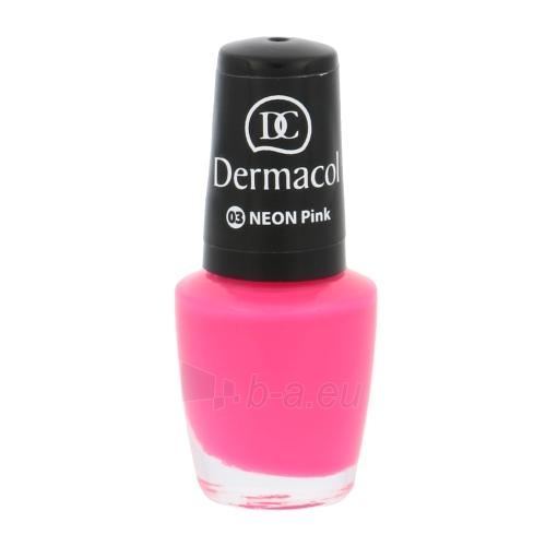 Dermacol Neon Polish Cosmetic 5ml Nr.03 Paveikslėlis 1 iš 2 250874000117