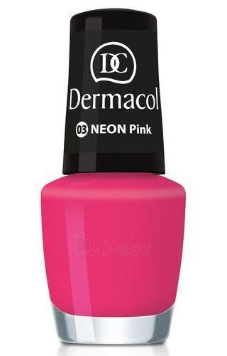 Dermacol Neon Polish Cosmetic 5ml Nr.03 Paveikslėlis 2 iš 2 250874000117