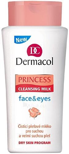 Dermacol Princess Cleansing Milk face&eyes Cosmetic 200ml Paveikslėlis 1 iš 1 250840700390