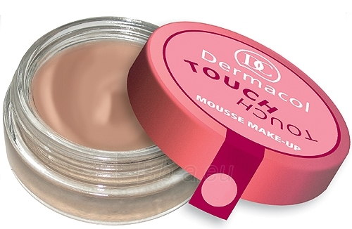 Dermacol Touch Touch Mousse Make-Up 02 Cosmetic 15g Paveikslėlis 1 iš 1 250873300202