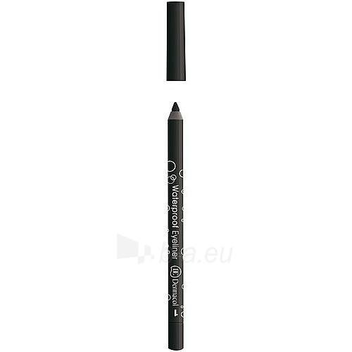 Dermacol Waterproof Eyeliner No.1 Cosmetic 1,4g Paveikslėlis 1 iš 1 2508713000063