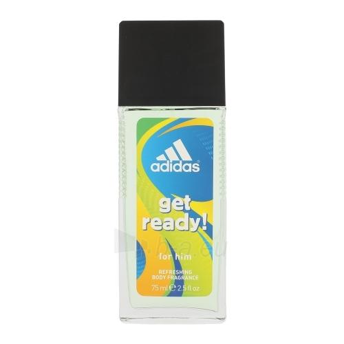 Dezodorantas Adidas Get Ready! Deodorant Men 75ml Paveikslėlis 1 iš 1 2508910001056