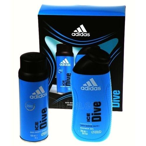 Deodorant Adidas Ice Dive Deodorant 150ml. Paveikslėlis 1 iš 1 2508910000040