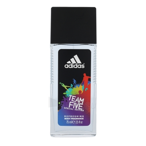 Dezodorantas Adidas Team Five Deodorant Men 75ml Paveikslėlis 1 iš 1 2508910001059