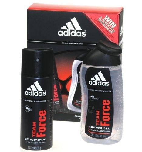 Deodorant Adidas Team Force Deodorant 150ml (Rinkinys) Paveikslėlis 1 iš 1 2508910000045