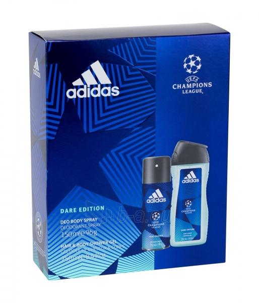 Dezodorantas Adidas UEFA Champions League Dare Edition 150ml Paveikslėlis 1 iš 1 310820209382