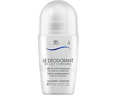 Dezodorantas Biotherm 48 hour ball antiperspirant deodorant By Le Lait Corporel (48h Roll-On Antiperspirant) 75 ml Paveikslėlis 1 iš 1 310820089329
