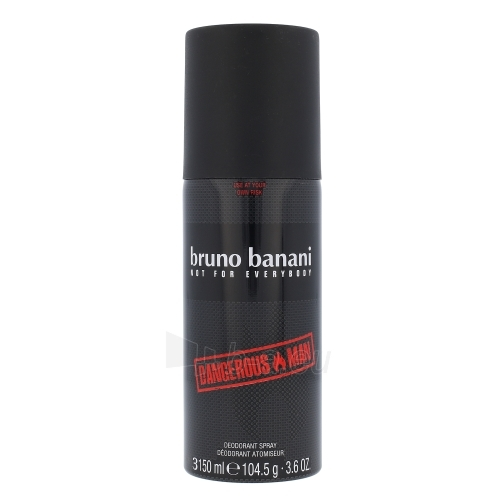 Dezodorantas Bruno Banani Dangerous Man Deodorant 150ml Paveikslėlis 1 iš 1 310820039573