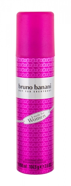Dezodorantas Bruno Banani Made For Woman Deodorant 150ml Paveikslėlis 1 iš 1 310820162660