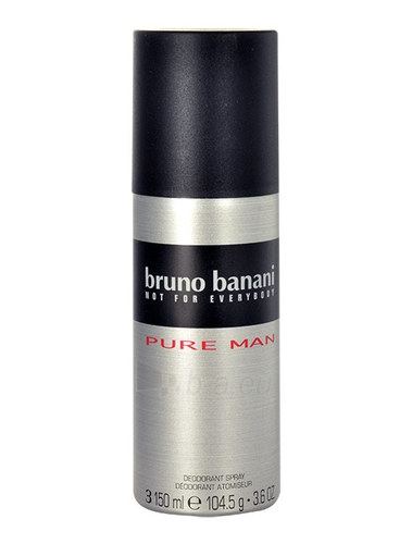 Dezodorantas Bruno Banani Pure Men Deodorant 150ml Paveikslėlis 1 iš 1 310820014975