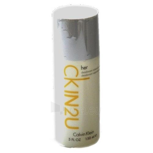 Deodorant Calvin Klein In2U Deodorant 150ml Paveikslėlis 1 iš 1 2508910000071