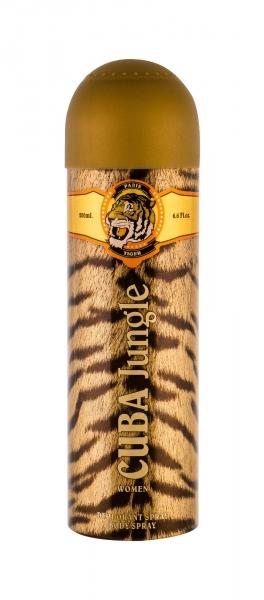 Dezodorantas Cuba Tiger Deodorant 200ml Paveikslėlis 1 iš 1 310820174597