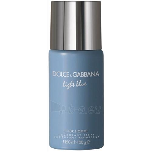 Dezodorantas Dolce & Gabbana Light Blue Pour Homme Deodorant 150ml Paveikslėlis 1 iš 1 2508910000146