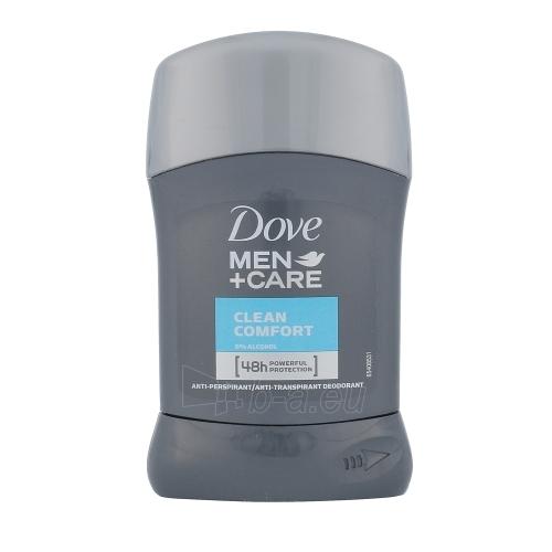 Dezodorantas Dove Men + Care Clean Comfort 48h Deostick Cosmetic 50ml Paveikslėlis 1 iš 1 310820045677