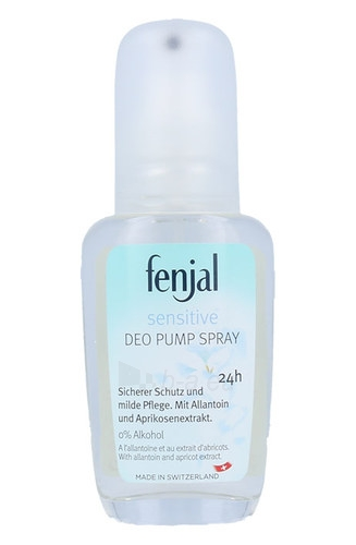 Dezodorantas Fenjal Sensitive Deo Pump Spray 24H Cosmetic 75ml Paveikslėlis 1 iš 1 310820039436