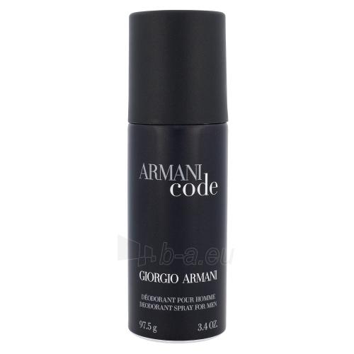 Dezodorantas Giorgio Armani Black Code Deodorant 150ml Paveikslėlis 1 iš 1 2508910000167