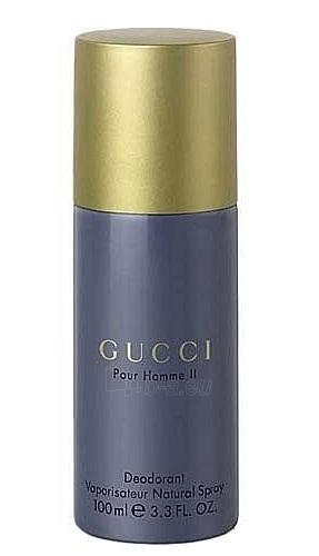Dezodorantas Gucci Pour Homme II. Deodorant 100ml Paveikslėlis 1 iš 1 2508910000716