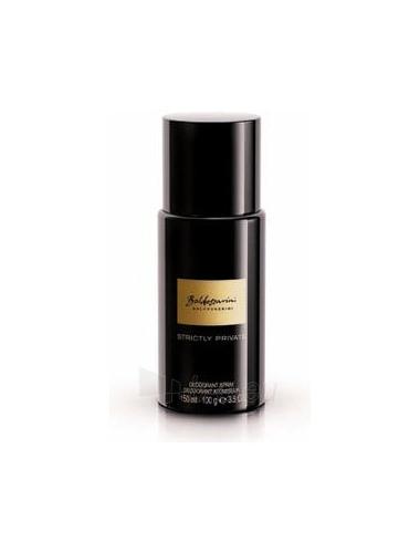 Dezodorantas Hugo Boss Baldessarini Strictly Private Deodorant 150ml Paveikslėlis 1 iš 1 2508910000196