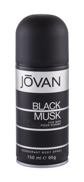 Dezodorantas Jovan Musk Black Deodorant 150ml Paveikslėlis 1 iš 1 2508910001178