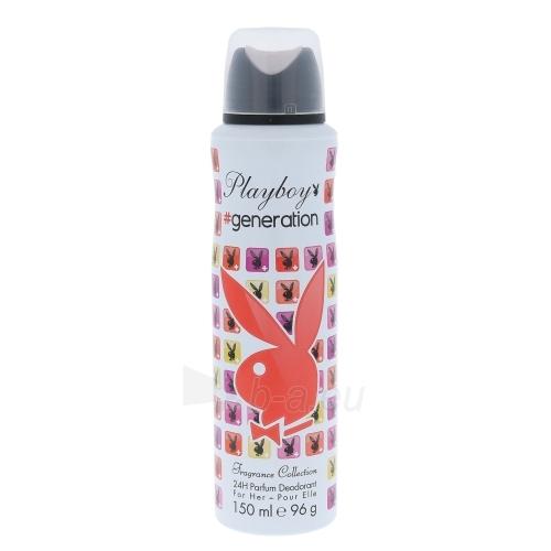 Dezodorantas Playboy Generation For Her Deodorant 150ml Paveikslėlis 1 iš 1 310820023957