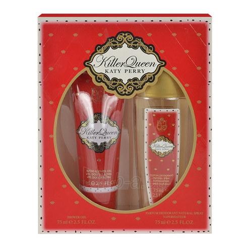 Dezodoranto rinkinys Katy Perry Killer Queen Deodorant 75ml Paveikslėlis 1 iš 1 2508910001232
