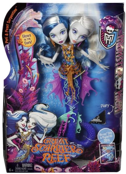 DHB47 lėlė Monster High (Peri & Pearl Serpentine Paveikslėlis 1 iš 6 310820048864