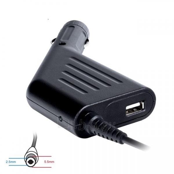 Digitalbox automob. mait. šaltinis 19V/4.74A, 90W kišt 5.5x2.5mm ToshibaAcer|USB Paveikslėlis 1 iš 3 250256400836