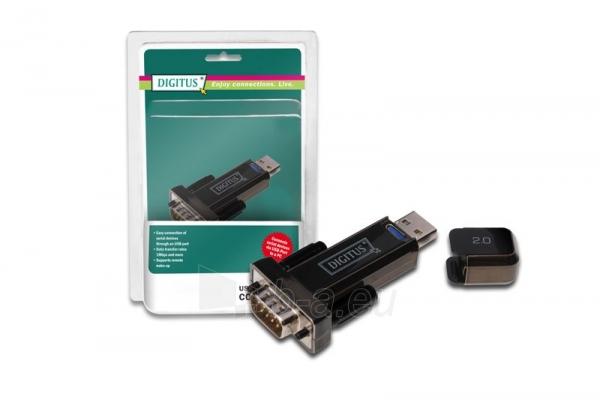 Digitus Konverteris USB2.0/RS232 (DB9M) Paveikslėlis 1 iš 2 250255081400