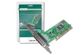 Digitus Plokštė 32-Bit, PCI, 1 x parallel Paveikslėlis 1 iš 1 250255081428