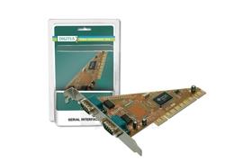 Digitus Plokštė 32-Bit, PCI, 2xserial (COM) Paveikslėlis 1 iš 2 250255081429