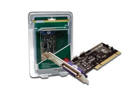 Digitus Plokštė Multi I/O 32-Bit, PCI   2xserial, 1xparallel Paveikslėlis 1 iš 3 250255081430