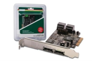 DIGITUS Plokštė PCI-E prie eSATA II / SATA II 4-port Paveikslėlis 1 iš 3 250255081438