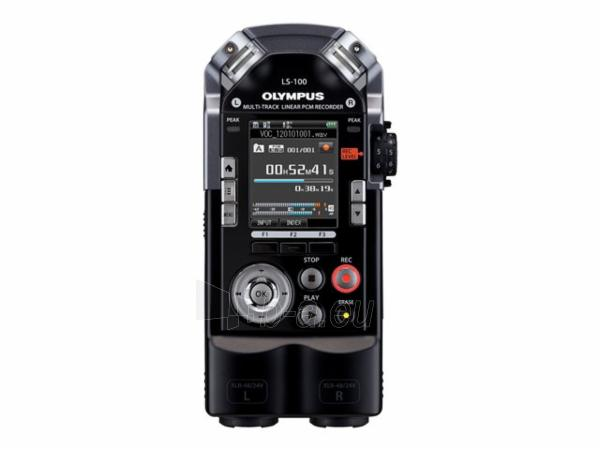 Diktafonas OLYMPUS LS-100 Multi Track Linear PCM Paveikslėlis 1 iš 3 310820001466