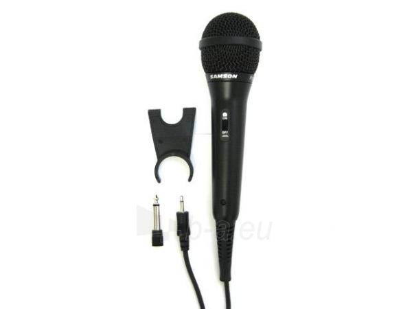 Dinaminis mikrofonas SAMSON R10S JACK 3.5/6.3mm Paveikslėlis 1 iš 3 250255090678