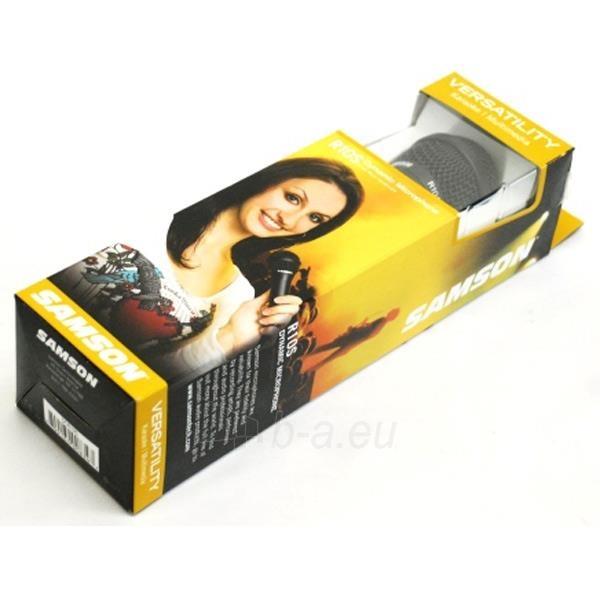 Dinaminis mikrofonas SAMSON R10S JACK 3.5/6.3mm Paveikslėlis 3 iš 3 250255090678