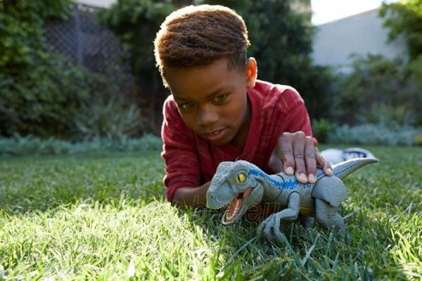 Dinozauras GFD40 Jurassic World Primal PAL Blue MATTEL Paveikslėlis 3 iš 6 310820230670