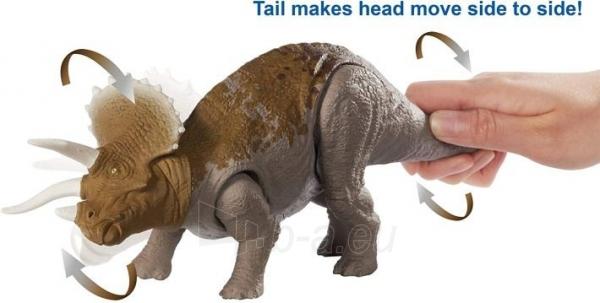 Dinozauras GJN65 Jurassic World Dual Attack Triceratops MATTEL Paveikslėlis 3 iš 6 310820230669