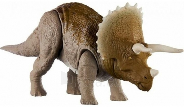 Dinozauras GJN65 Jurassic World Dual Attack Triceratops MATTEL Paveikslėlis 4 iš 6 310820230669