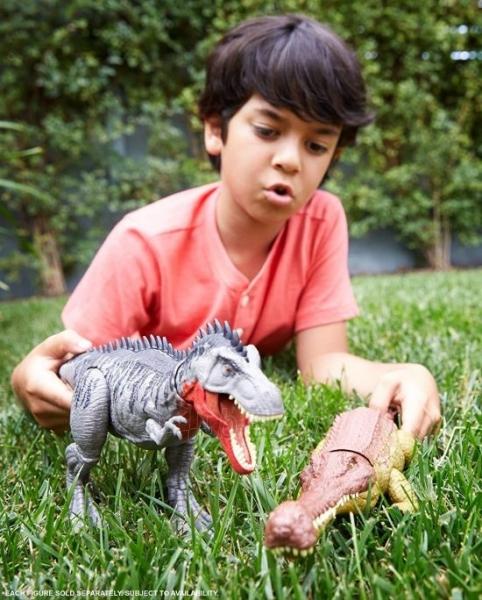 Dinozauras GJP34 Jurassic World Massive Biters Sarcosuchus MATTEL Paveikslėlis 4 iš 6 310820230667