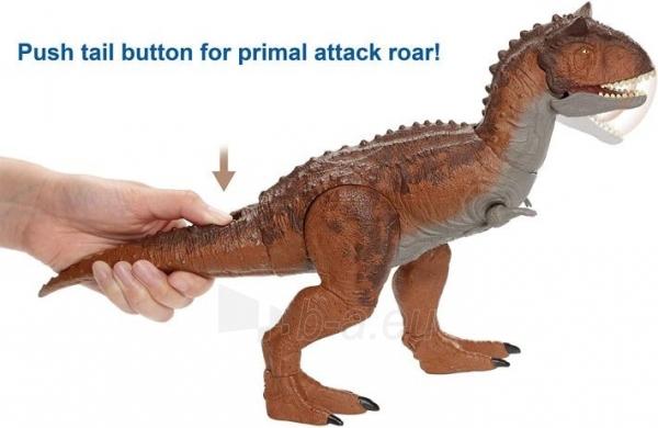 Dinozauras GJT59 Jurassic World Control N Conquer Carnotaurus MATTEL Paveikslėlis 5 iš 6 310820230663