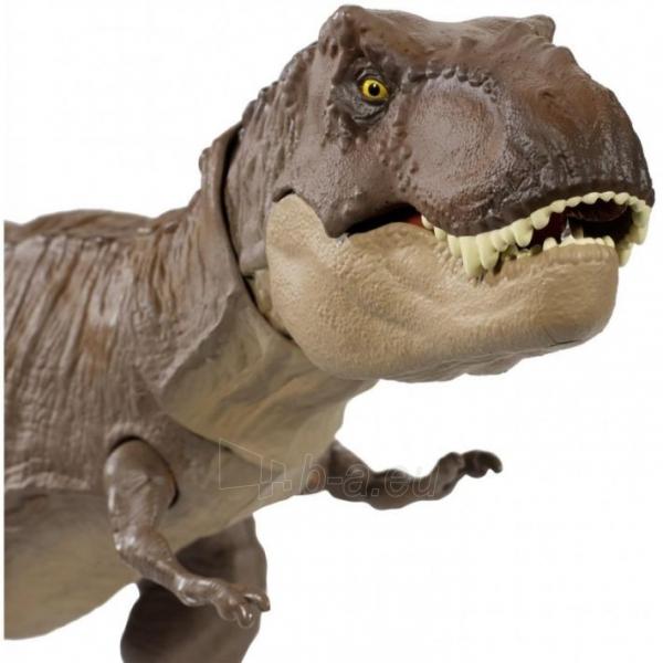 Dinozauras GLC12 Mattel Jurassic World Extreme Chompin Tyrannosaurus Rex Paveikslėlis 1 iš 6 310820230661