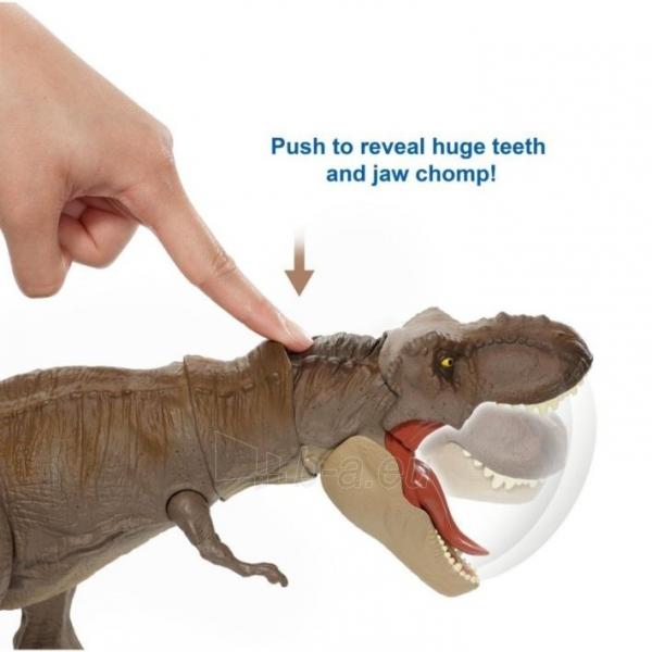 Dinozauras GLC12 Mattel Jurassic World Extreme Chompin Tyrannosaurus Rex Paveikslėlis 2 iš 6 310820230661