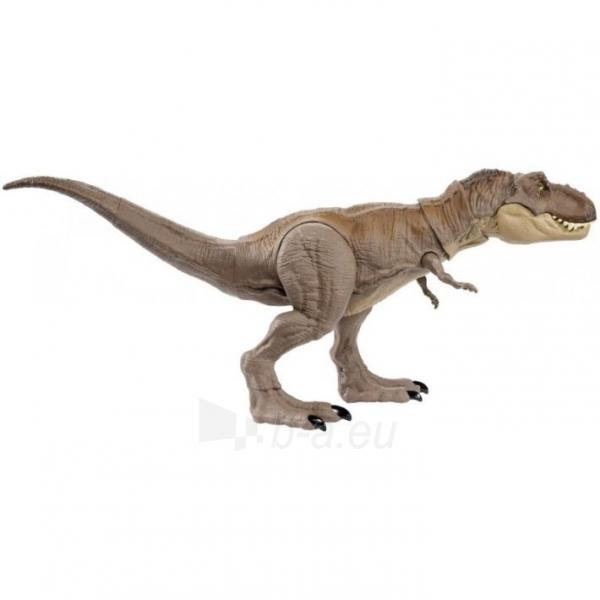 Dinozauras GLC12 Mattel Jurassic World Extreme Chompin Tyrannosaurus Rex Paveikslėlis 4 iš 6 310820230661
