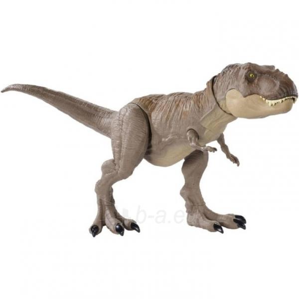 Dinozauras GLC12 Mattel Jurassic World Extreme Chompin Tyrannosaurus Rex Paveikslėlis 5 iš 6 310820230661