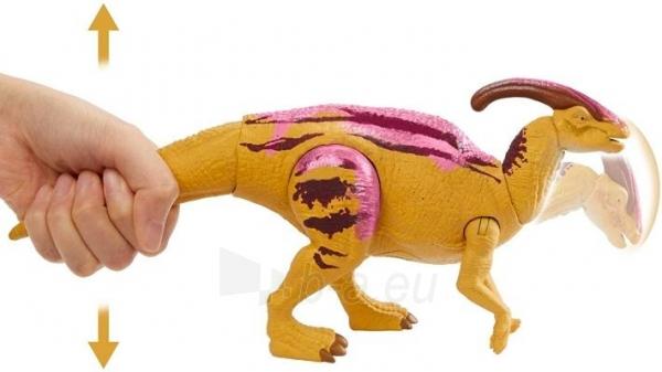 Dinozauras GMC96 / GJN64 JURASSIC WORLD SOUND STRIKE Parasaurolophus MATTEL Paveikslėlis 3 iš 6 310820230664