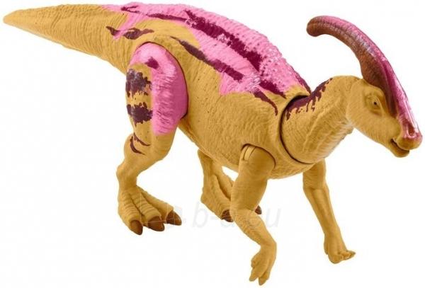 Dinozauras GMC96 / GJN64 JURASSIC WORLD SOUND STRIKE Parasaurolophus MATTEL Paveikslėlis 5 iš 6 310820230664