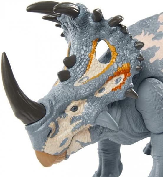 Dinozauras GMC98 / GJN64 JURASSIC WORLD SOUND STRIKE Sinoceratops MATTEL Paveikslėlis 1 iš 6 310820230665