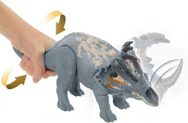 Dinozauras GMC98 / GJN64 JURASSIC WORLD SOUND STRIKE Sinoceratops MATTEL Paveikslėlis 3 iš 6 310820230665